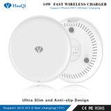 Mejor OEM/ODM 10W Fast Qi Wireless Mobile/Cell Phone soporte de carga/Puerto de alimentación/pad/estación/cargador para iPhone/Samsung/Huawei/Xiaomi