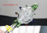 Collecteur en verre de nectar de la pipe de fumage 14mm/19mm