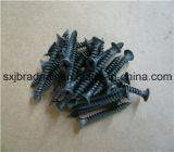 parafusos fosfatados pretos de aço do Drywall de 3.5*25mm C1022 Hardend