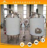 Maquinaria micro de la cervecería en sistema de fermentación