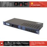 In het groot Goede Kwaliteit Dbx Driverack de Bewerker van het Signaal van 260 2 X 6 voor het Systeem van het Beheer van 2 X 6 Luidspreker met Vertoning