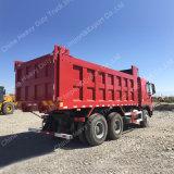 Sinotruk Zz3257n3847 336HP HOWO A7 팁 주는 사람 쓰레기꾼 트럭