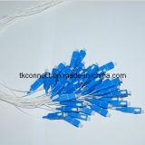 Sc/UPC de fibra óptica de la coleta 2mtr