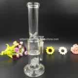 Tubo di acqua di vetro di Perc del disco del miele di Bontek per fumare
