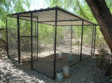 Galvanized Wleded Wire Mesh Filled Outdoor Dog Fence