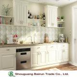 パネルの台所家具のメラミン食器棚