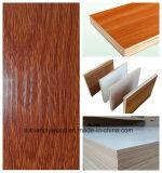 La mélamine en bois des graines d'usage de meubles a fait face au contre-plaqué