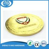 Großhandelsqualitäts-kundenspezifische Goldandenken-Münzen