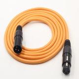 Het hete Verkopende 3pin Mannetje van de Kabel XLR aan Wijfje voor Microfoon