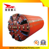 Máquina aborrecida do túnel da rocha para o gasoduto natural