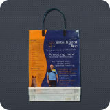 Plastic Shopping Bag with Clip Handle