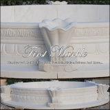 Raggruppamento bianco di Carrara per la decorazione domestica Mpl-171
