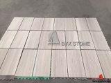 Белые деревянные плитки мрамора вены для стены и пола