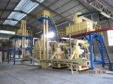 Machines pour faire du bois de boulettes de paille (riz/avec la CE LA NORME ISO9001)