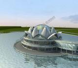 동유럽 강철 구조물 영화관