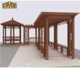 Pérgola Jardín mayorista Grian pérgola para el balcón de madera