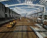 Edificios prefabricados del hangar del taller del almacén de la estructura de acero del palmo grande
