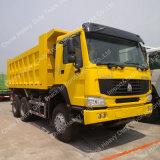Sinotruk HOWO penetrador de 6X4/Dumper Truck para minas de carbón
