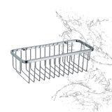 Het sanitaire Rek van het Bad van de Draad van het Roestvrij staal van Waren Enige Muur Opgezette (SUS304)