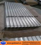 Telhado de zinco Galvalume ondulado folhas / Ferro Telhado de aço