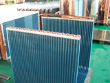 Aluminiumflosse-kupfernes Gefäß-Klimaanlagen-Kondensator