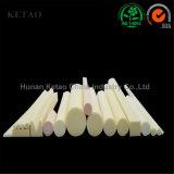 Resistenza a temperatura elevata del riscaldatore di ceramica di ceramica del tubo dell'allumina con tolleranza 0.001mm di alta precisione