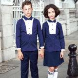 Uniforme d'école Factory Wholesale Cheap Navy Blue School Shirts