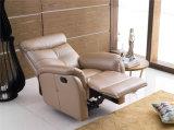 Sala cuero auténtico sofá (C783)