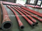 Tubo flessibile di gomma ad alta pressione di aspirazione della pompa di fango