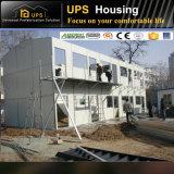 Villa mobile d'acciaio chiara rispettosa dell'ambiente modulare verde provvisoria
