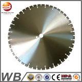 El diamante dividido en segmentos circular soldado laser vio las láminas convenientes para el concreto