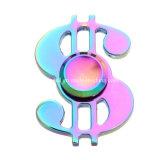 Vendita calda della fabbrica popolare 2017 fredda filatore di irrequietezza della mano del segno dei soldi del dollaro US