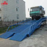 Camion Usagé Loading Yard Ramp Hydraulic Container Loading Bridge
