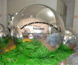 Раздувной рекламируя шарик зеркала отражательного снежка декоративный