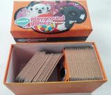 만화에 의하여 인쇄되는 서류상 게임 카드