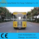 China Electric Mobile Carrinho de alimentos com alta qualidade