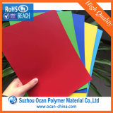 Feuille en PVC rigide gaufré de couleur pour l'impression Silk-Screen