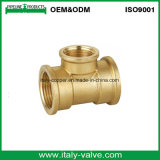 Customized Quality Polishing Forged Brass Equal Tee (AV-BF-8010)