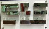 Painel de vidro em aço inoxidável de Patch pequenas L Conexão de patches