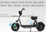 motocicleta 1000W de visita elétrica com a bateria de lítio 60V/20ah