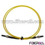 Sm SMA оптоволоконный кабель с исправлениями из нержавеющей стали с обжимным кольцом