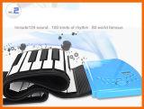 실리콘 연약한 키보드 88 키를 가진 전자 유연한 접히는 피아노