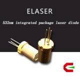 De fotografische Apparatuur pasten Compact Ontwerp 532nm van aan-5.6mm de Groene toe Module van de Laser