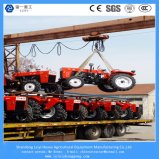 高いQuanlity新しいデザイン40-200 HPはディーゼル機関を搭載する車輪のトラクターを耕作する