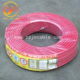 Fio flexível isolado PVC de cobre do conetor do condutor