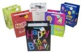 De gelukkige Zakken van de Gift van de Verjaardag Promotie met de Hete het Stempelen Zak van de Gift van het Document voor de Partij Aangepaste Zak van het Document van de Gift