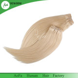 가장 정밀한 Virgin 머리 공급자 금발 색깔 똑바른 간격 100% 사람의 모발 연장