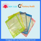 Sacco medico stampato PE di imballaggio di plastica della chiusura lampo risigillabile (MD-Z-07)