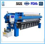 Filtre-presse 1600 contrôlé de chambre d'automobile de programme
