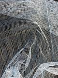 % del poliester de /100 de la tela neta de mosquito de la tela de acoplamiento hexagonal